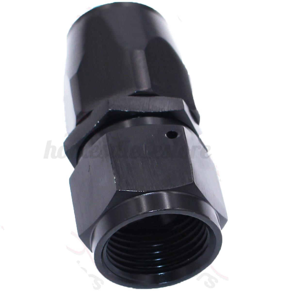 An8 8an an 8 45 degree reusable swivel ptfe hose end - Detail Image