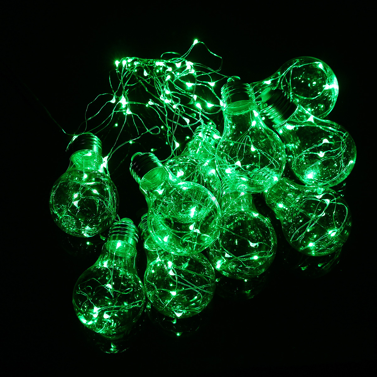 4m 10 led copper wire globe bulb light christmas xmas lamp for 57in led lighted peacock outdoor christmas decoration