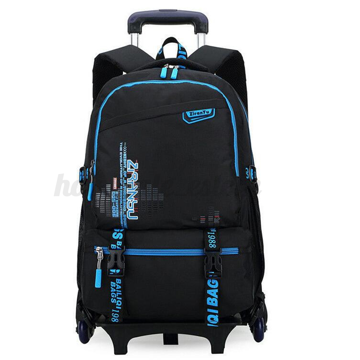 Ybriefbag Unisex Trolley Laptop Travel Bag Boarding Luggage Bag Business Student Admission Package Vacation Color : Blue, Size : L