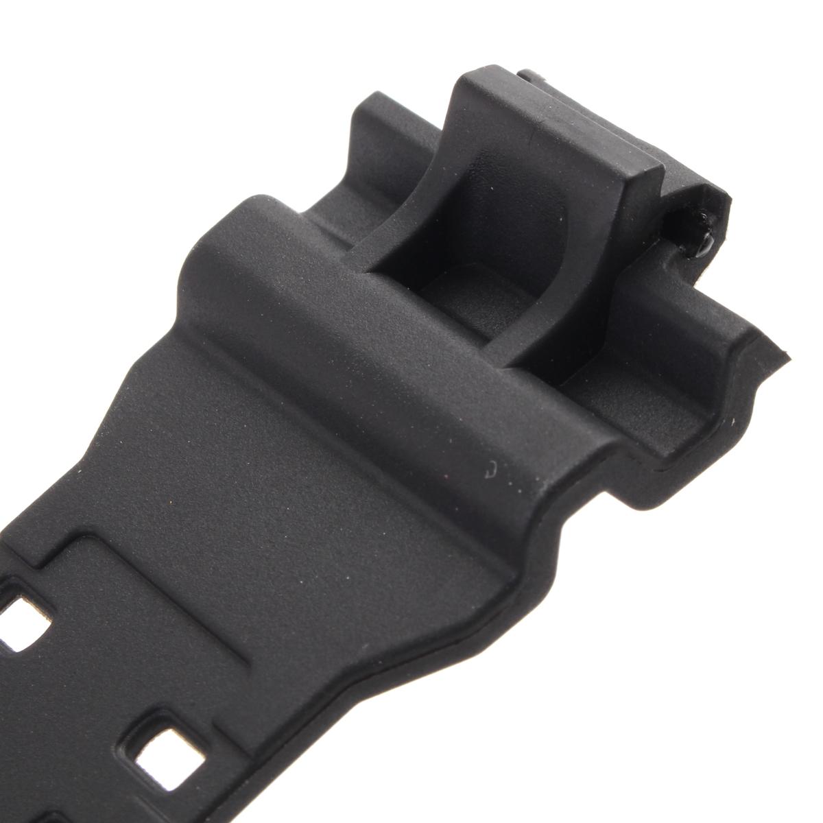 16mm Rubber Noir Bracelet Montre Band For CASIO GA-100 G-Shock GA-120//300 Boucle