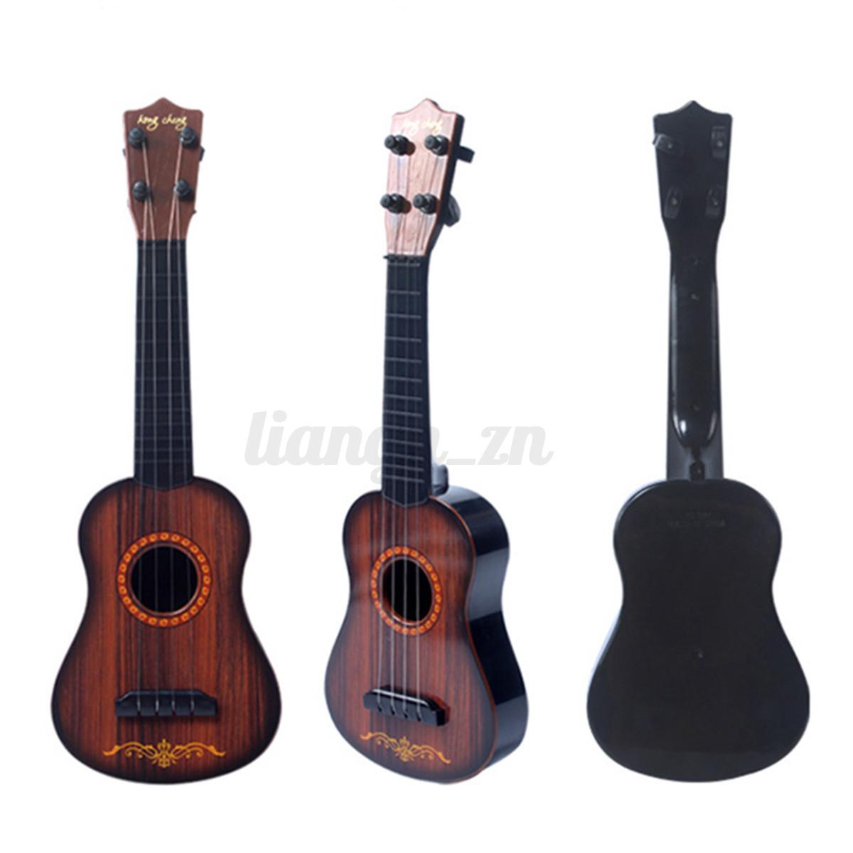 Ukulele-Mini-Gitarre-Guitar-17-inch-Acoustic-akustische-Spielzeug-Anfaenger
