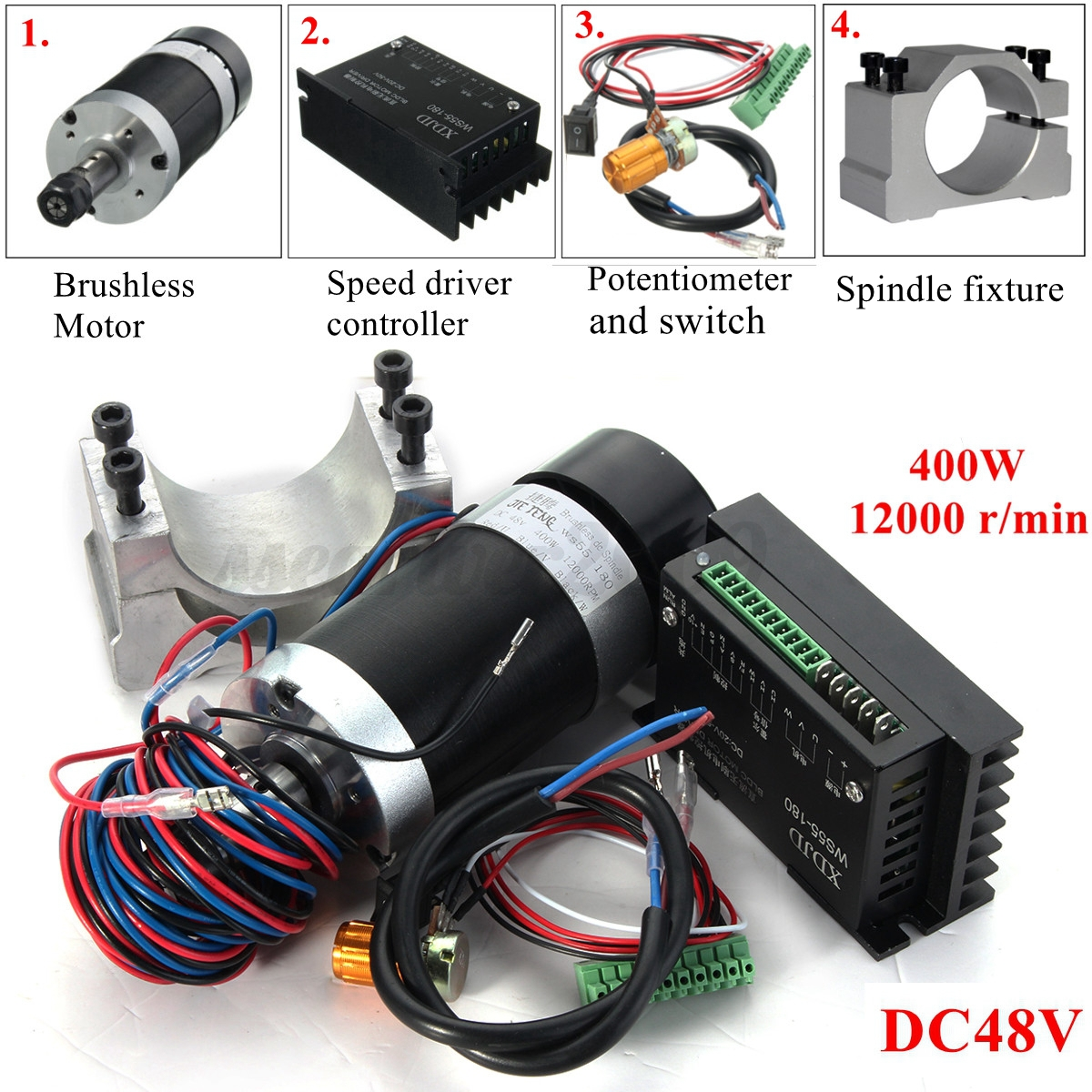 Digital Stepper Driver Kl 8070d Heat Sink Is Included additionally Nema34 31 Pla ary Gearbox furthermore 4025 Dc T Sealing Air besides Products in addition Brushless Rc Motors. on brushless dc motor spindles