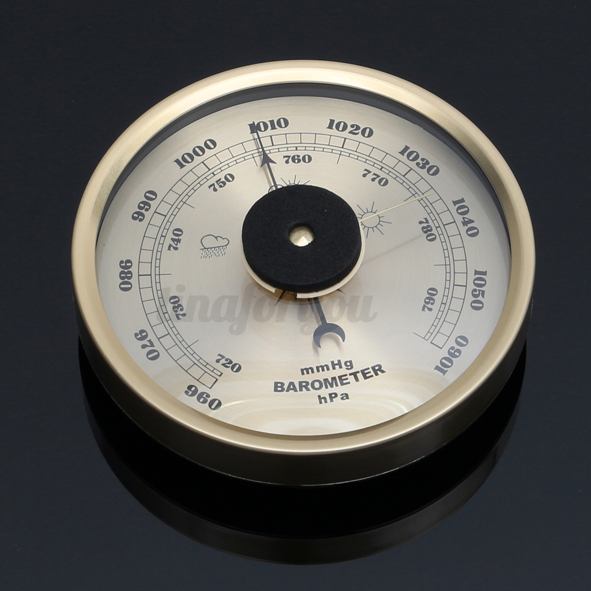 Vintage style 132mm 960 1060hpa barometer weather for Barometer and fishing