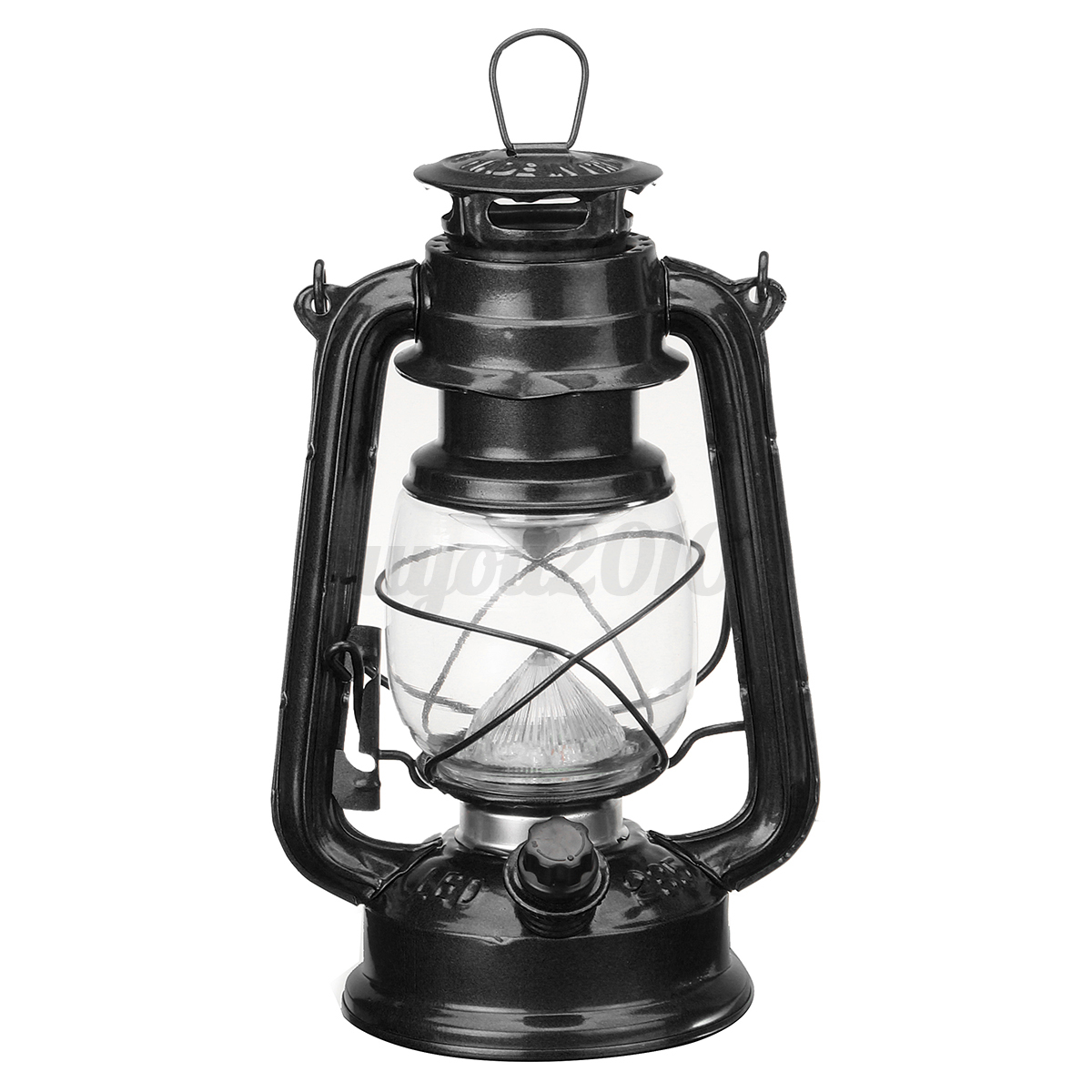 Vintage Style 15 Led Lantern With Dimmer Switch Battery