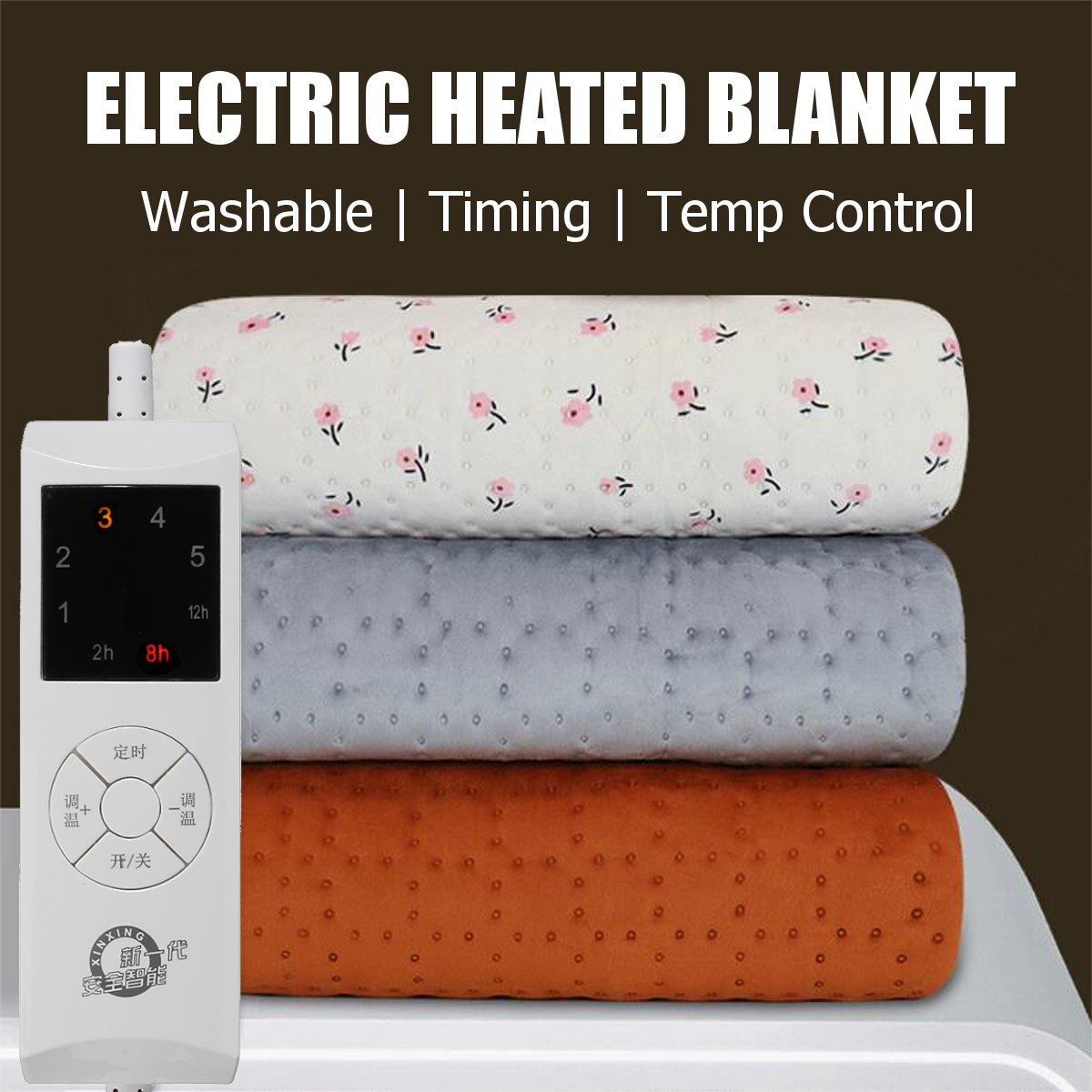180x90cm Electric Heated Blanket Winter