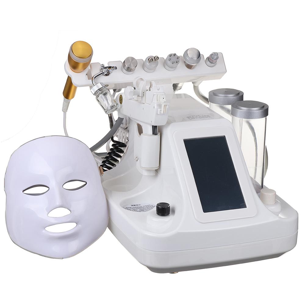 6-7-8-9-BIO-RF-Hydra-Dermabrasion-Aqua-Nettoyage-Peau-Soin-Machine-de-Beaute miniature 16