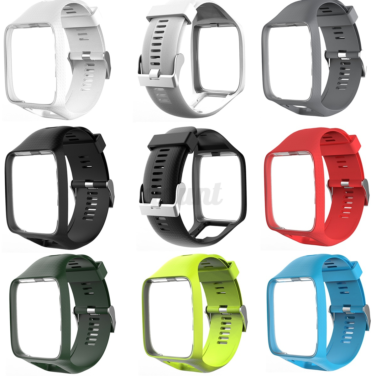Soft Silicone Wrist Band Strap For TomTom Runner 2&3/Golfer