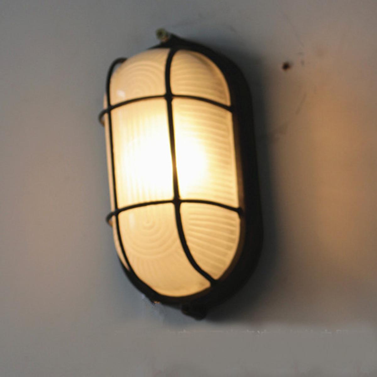 Garden-Metal-Wall-Light-Sconce-Lamp-Fixture-Outdoor-Indoor-Porch-Exterior-Decor