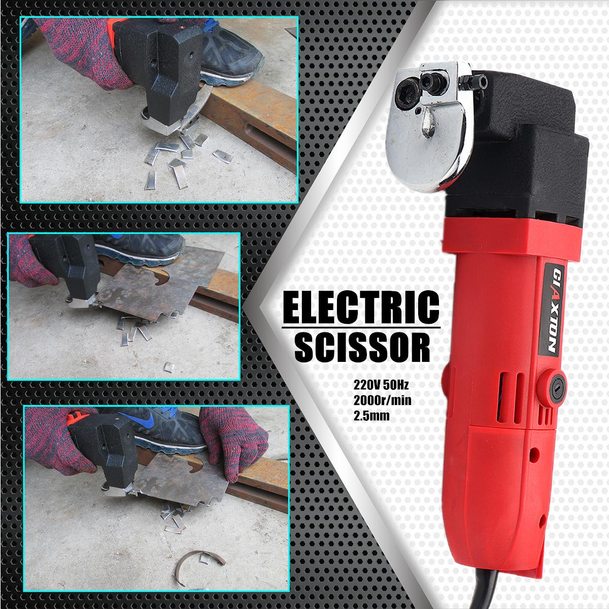 Electric Sheet Shear Metal Shear Tin Snip Cutter Nibbler Heavy Duty Power Tool