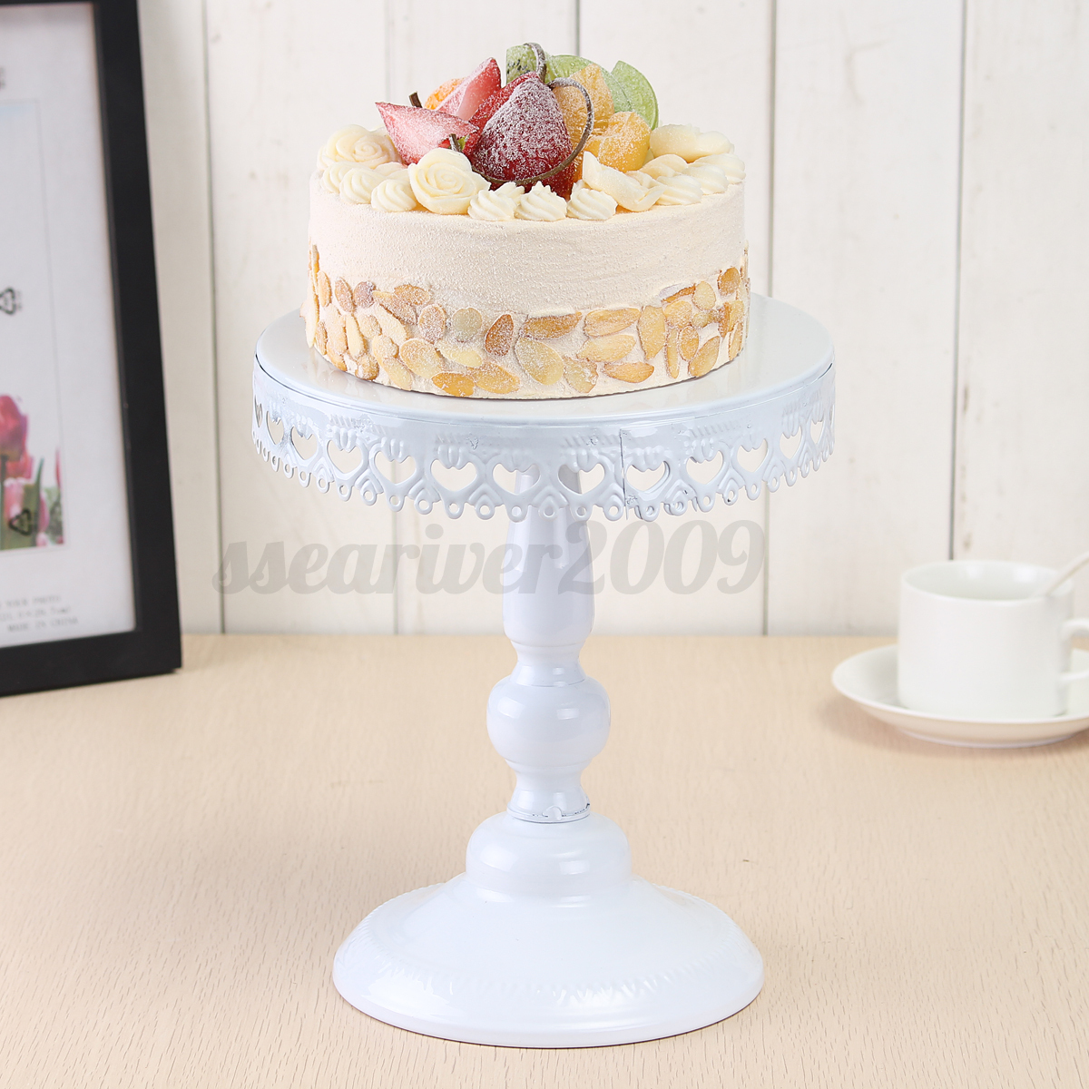 Cake Stand Home Decor : 4/8/12inch Vintage Cake Cupcake Stand Dessert Platter ...
