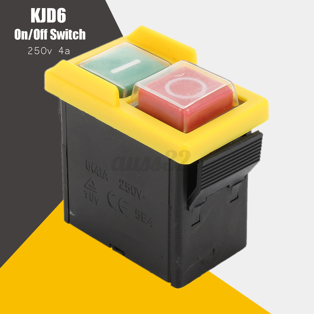 KJD6 250V 4A IP54 5E4 PVC Replacement On/Off Switch ...