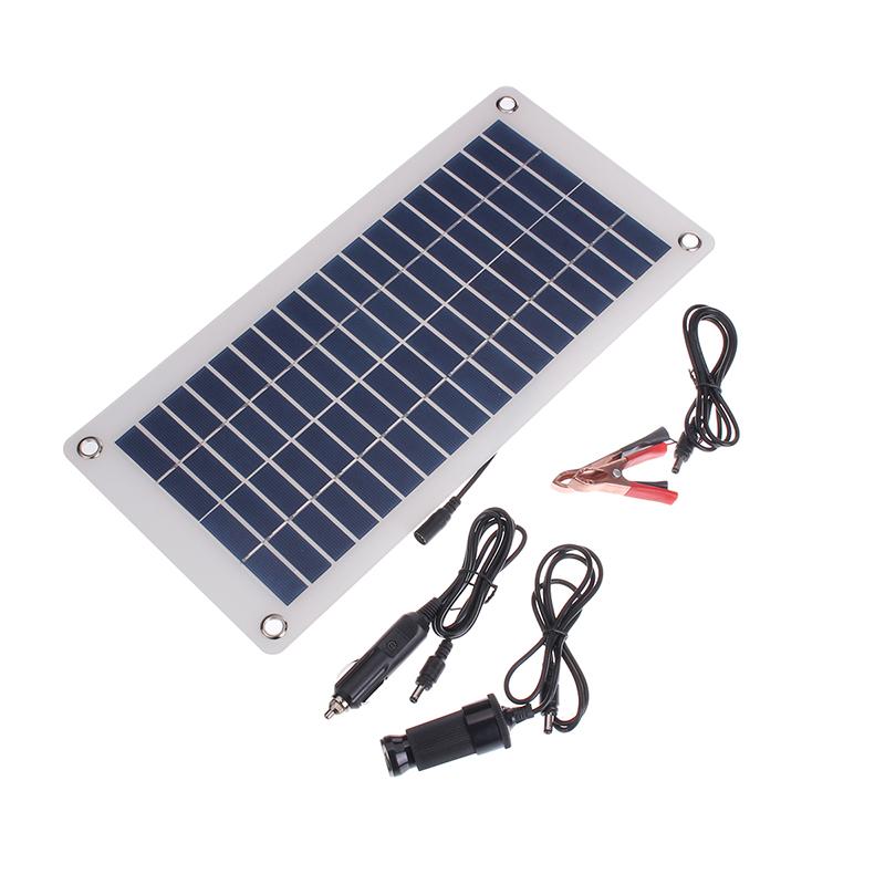 15w 20w 25w solar panel 5v 12v waterproof car battery. Black Bedroom Furniture Sets. Home Design Ideas