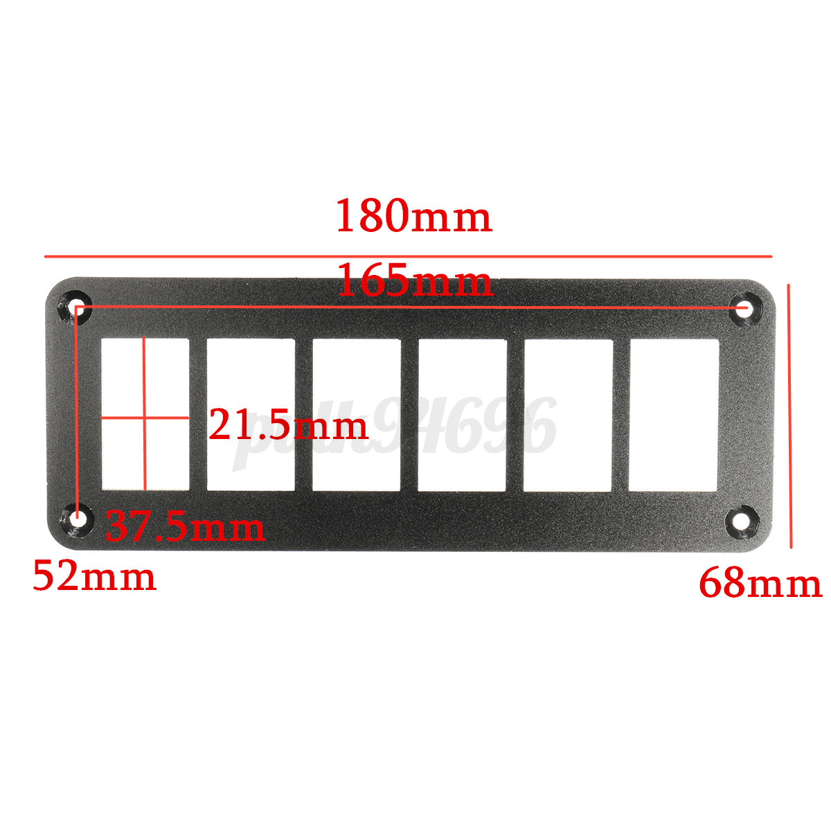2 3 4 6 Way Car Boat Rocker Switch Panel Housing Patrol Holder For 9 Of 11