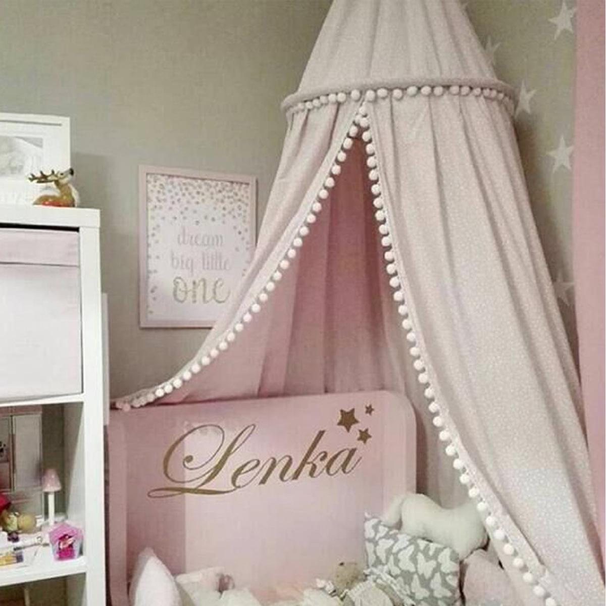 canop e ciel de lit moustiquaire rond aveugle baldaquin. Black Bedroom Furniture Sets. Home Design Ideas