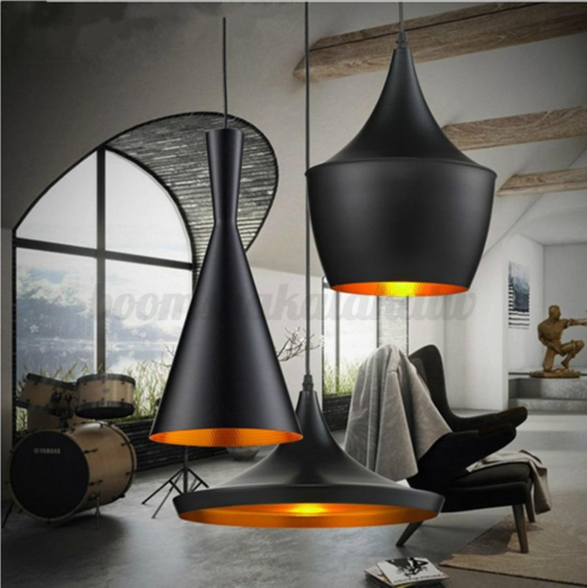 MODERN INDUSTRIAL CHANDELIERS Hanging Ceiling Light