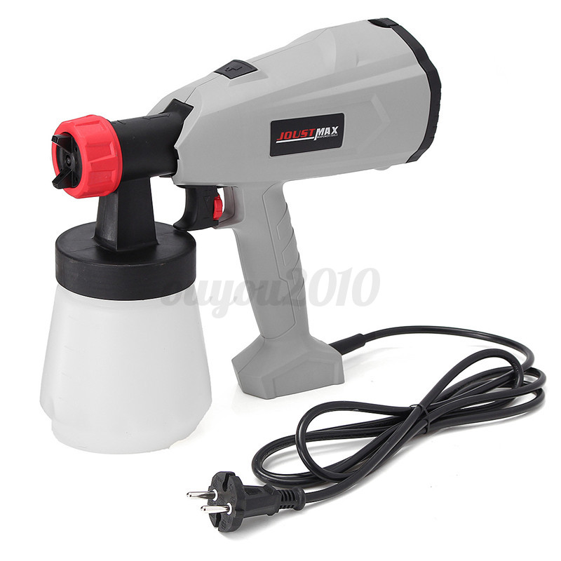 220v 400w electric paint gun sprayer airless house fence. Black Bedroom Furniture Sets. Home Design Ideas