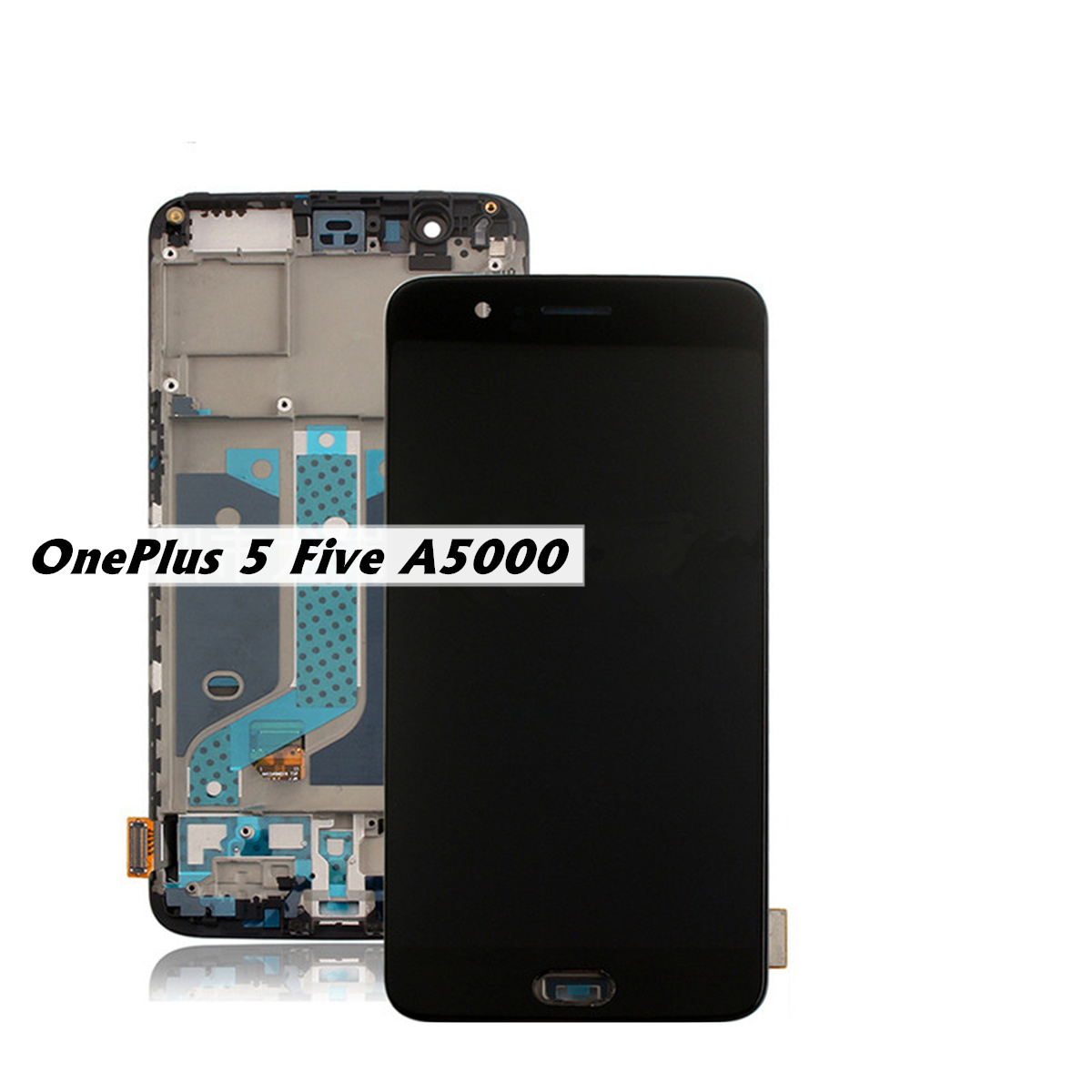 Assembly-For-Oneplus-5-A5000-LCD-Display-amp-Frame-Touch-Screen-Digitizer-Replace