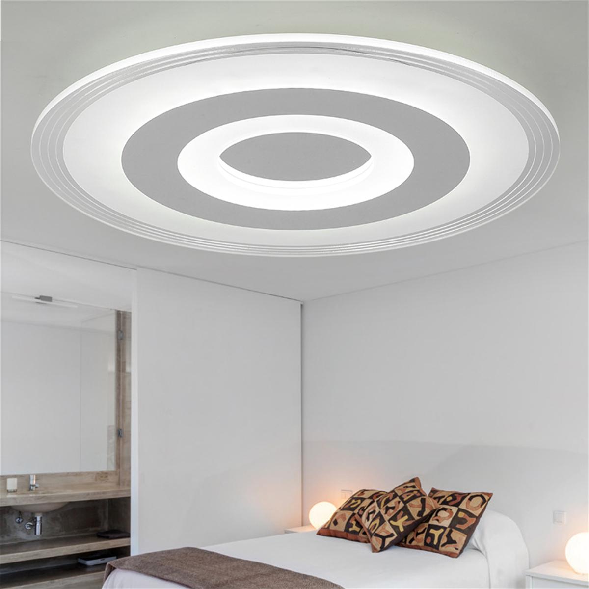 Large Modern Round LED Ceiling Light Lamp Home Living Room