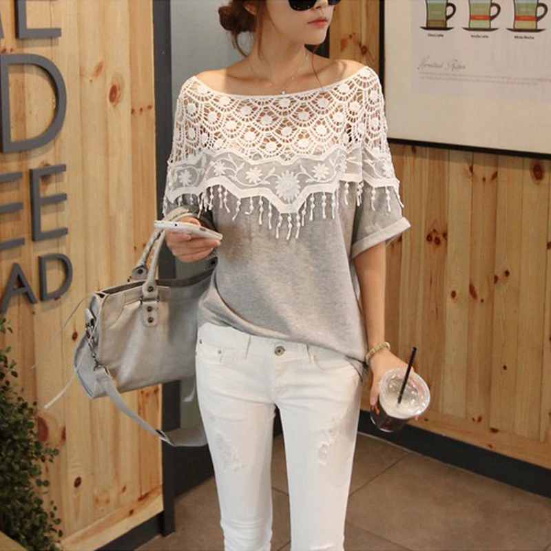 ZANZEA-8-24-Women-Short-Sleeve-Crochet-Lace-Top-Tee-T-Shirt-Plus-Size-Blouse