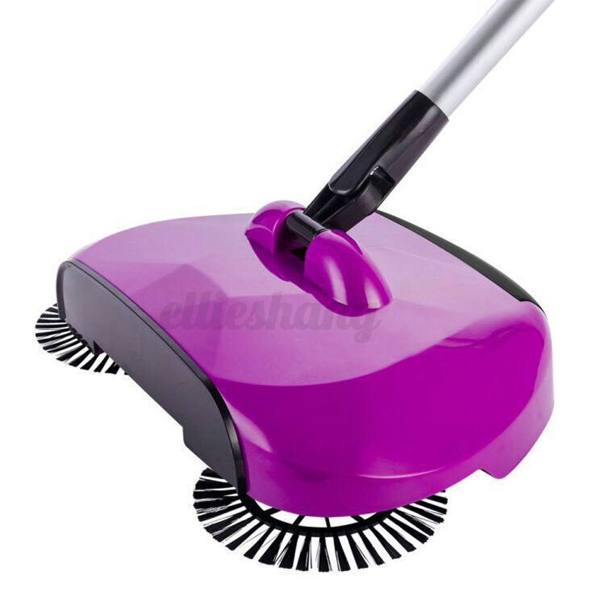 Automatic Spin Hand Push Sweeper Broom Household Cleaning