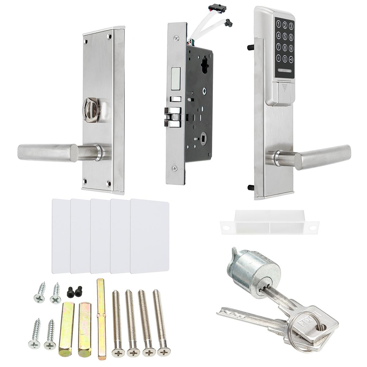 Ospon Os008c Digital Touchscreen Code Door Lock: ELECTRONIC DIGITAL SMART Password Door Lock Keypad Touch