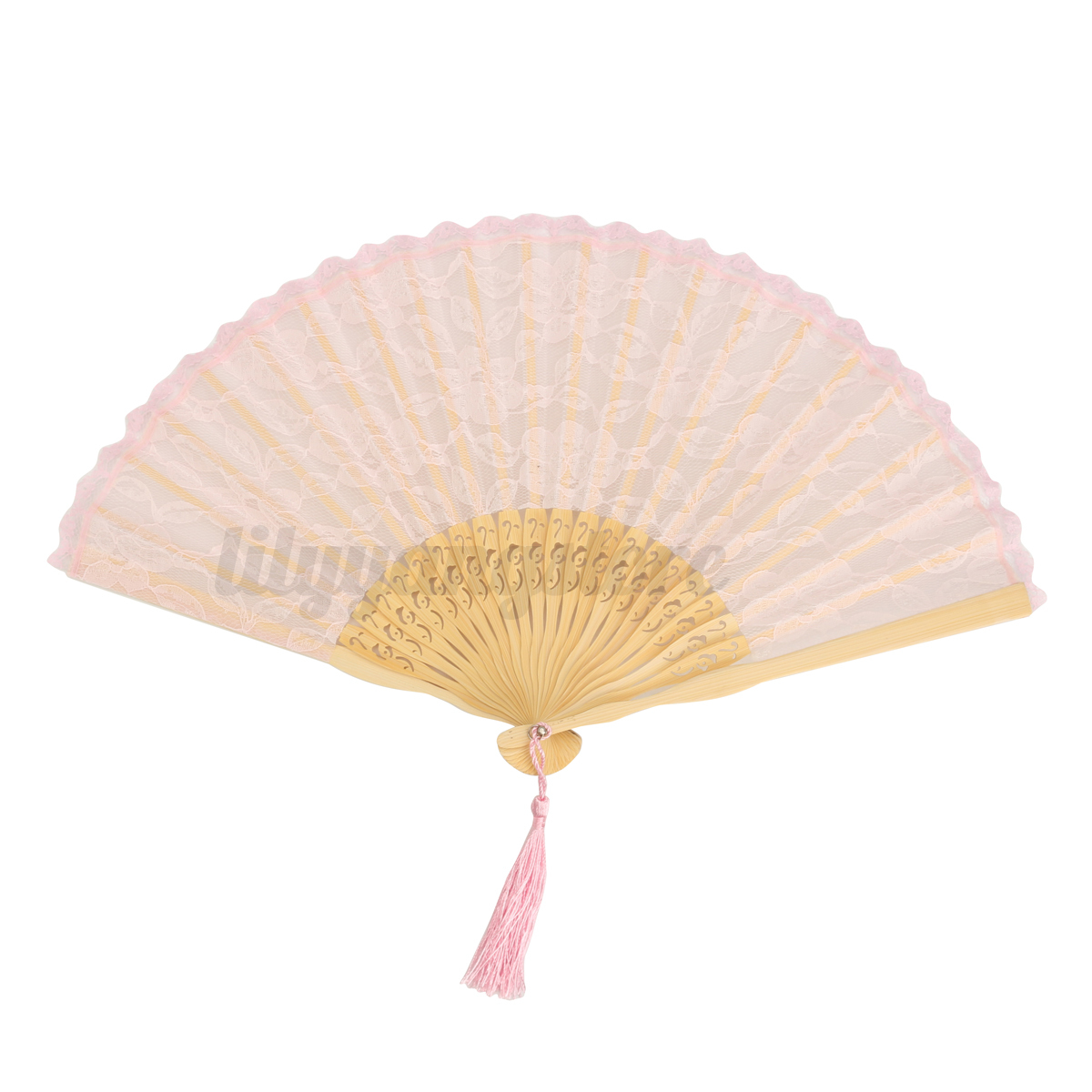 Spanish Gothic Victorian Folding Lace Hand Fan Wedding Party Favor ...