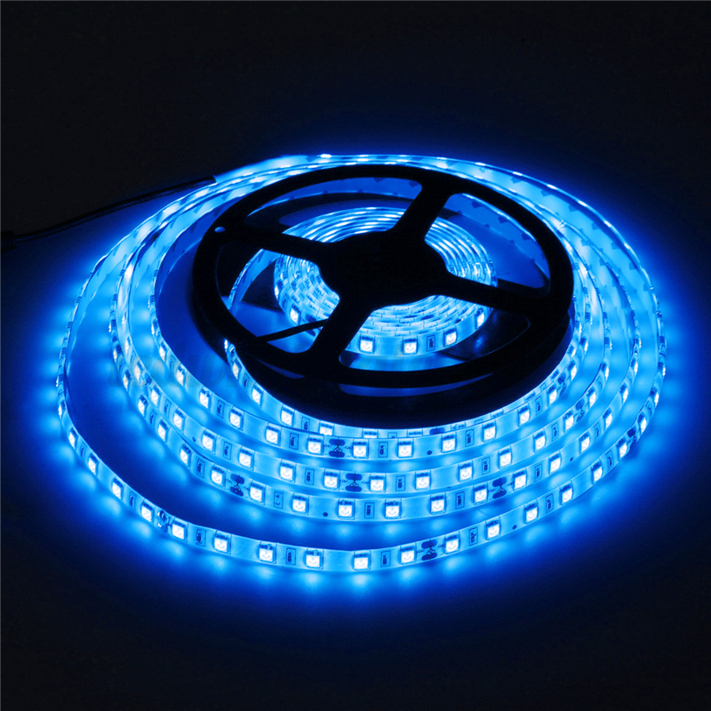5m 5050smd 300 led strip streifen lichterkette band lichtleiste wasserdicht 24v ebay. Black Bedroom Furniture Sets. Home Design Ideas