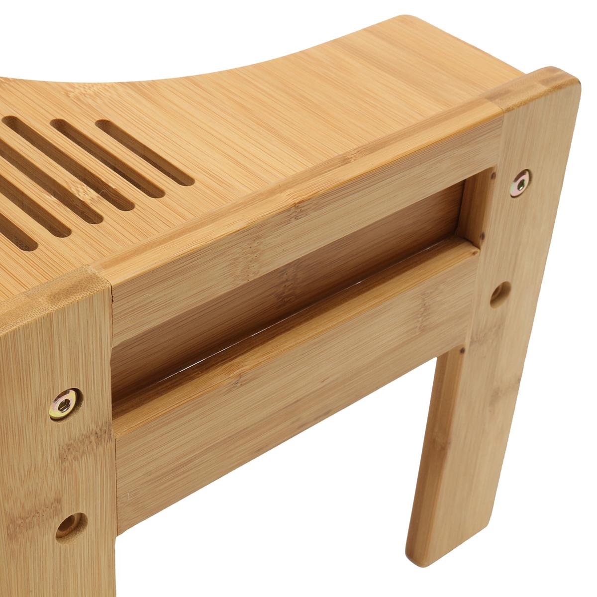 WC Pro Holz Toilettenhocker Hocker Bambus Fußhocker Töpfchen Komfort Piles Neu