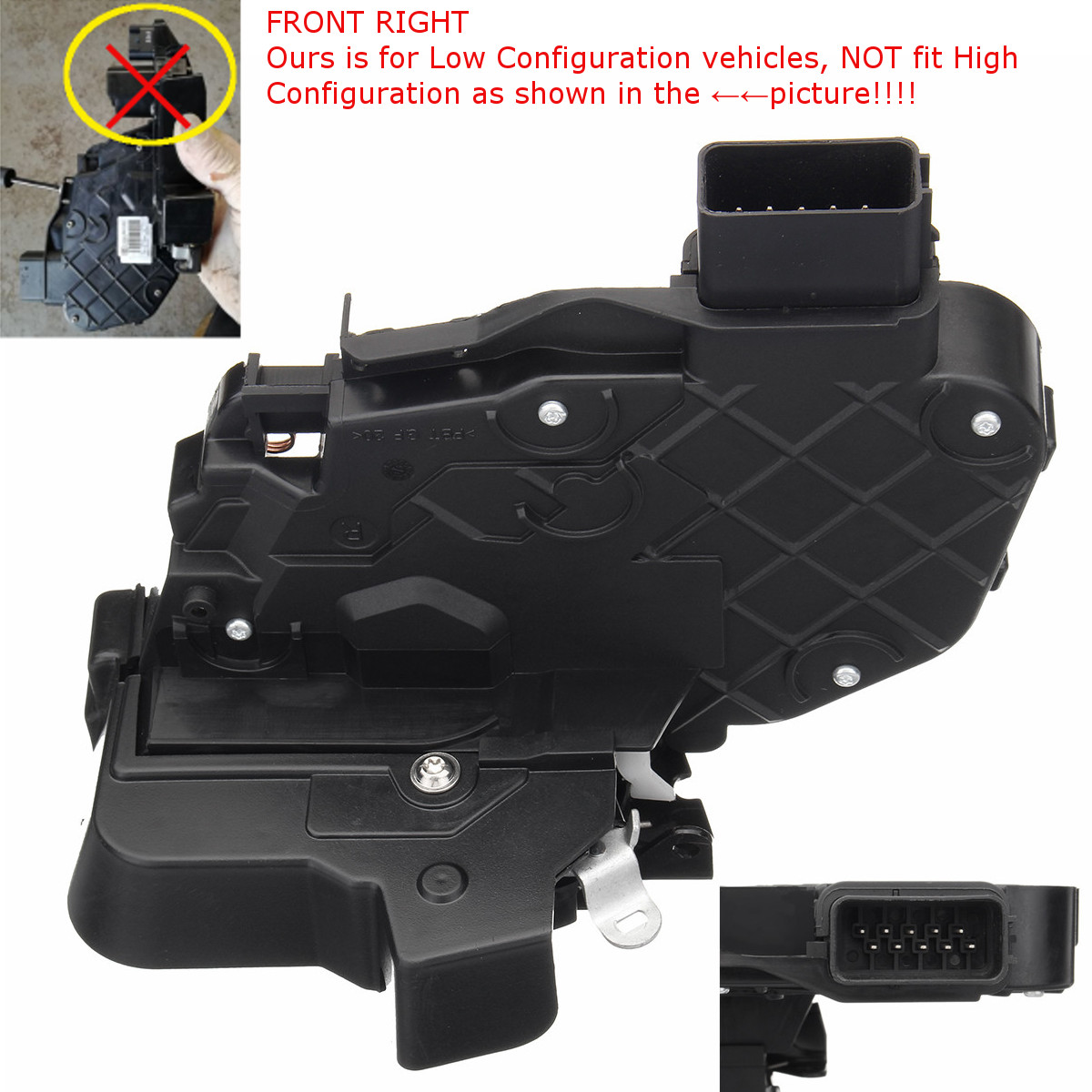 FOR LAND ROVER DISCOVERY 3 /& 4 FRONT RIGHT DRIVER SIDE DOOR LOCK LATCH MECHANISM
