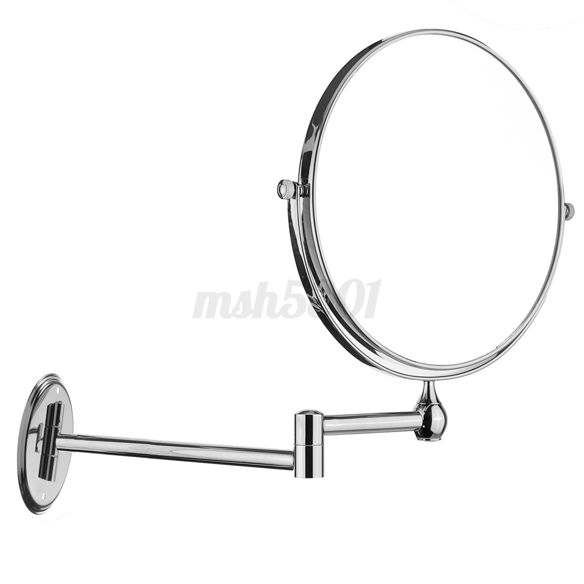 10x Magnifying Extending Bathroom Make up Shaving Wall Mounted ...
