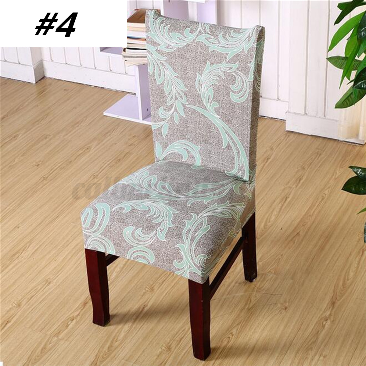1 4 6 Pcs Stretch Spandex Chair Covers
