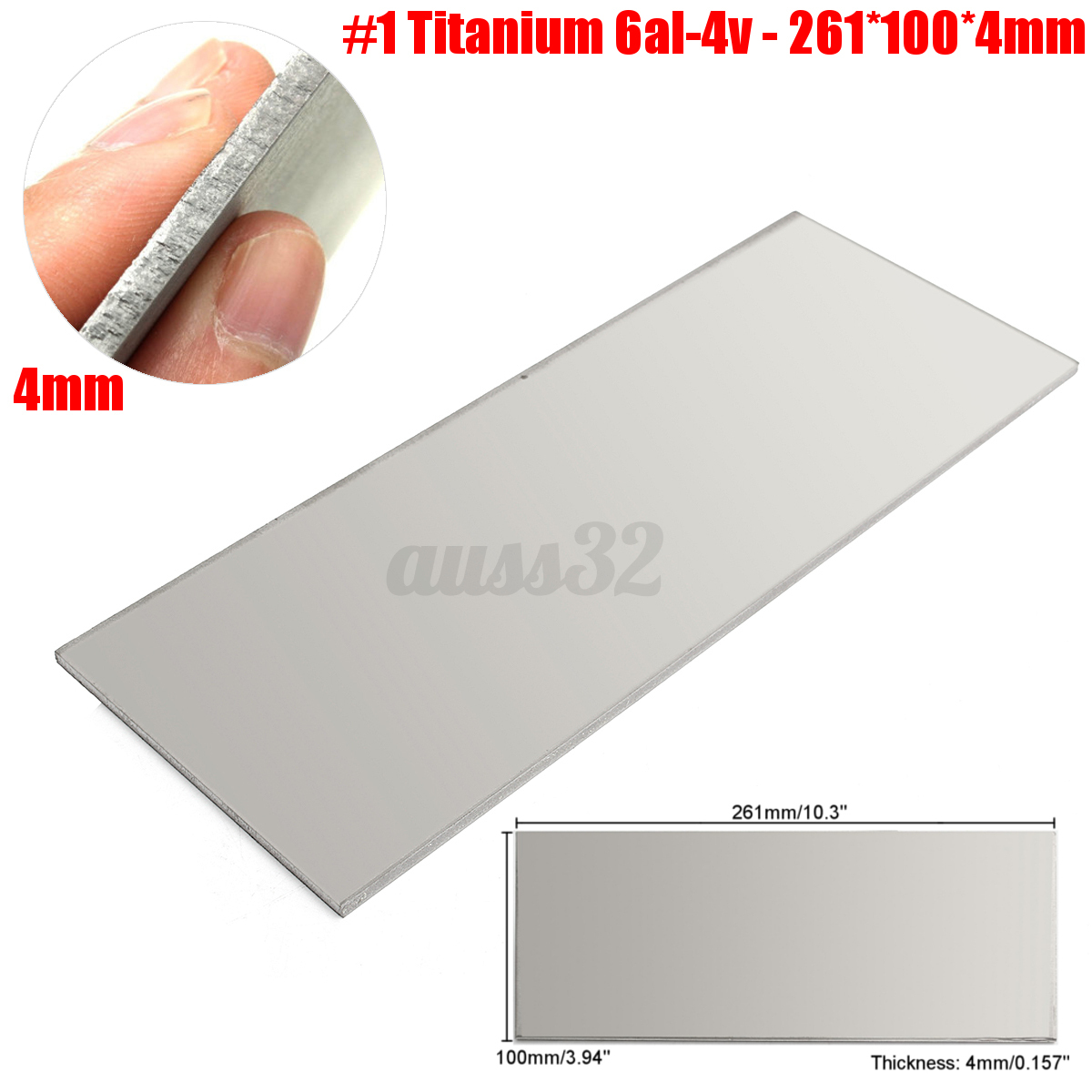 9 types aluminum copper alloy titanium metal sheet plate for Metal sheets for crafting