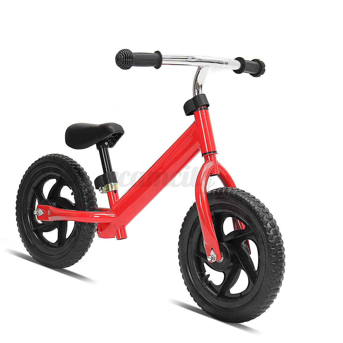 12 Kids Balance Bike Push Bicycle No Pedal Learn To Ride With