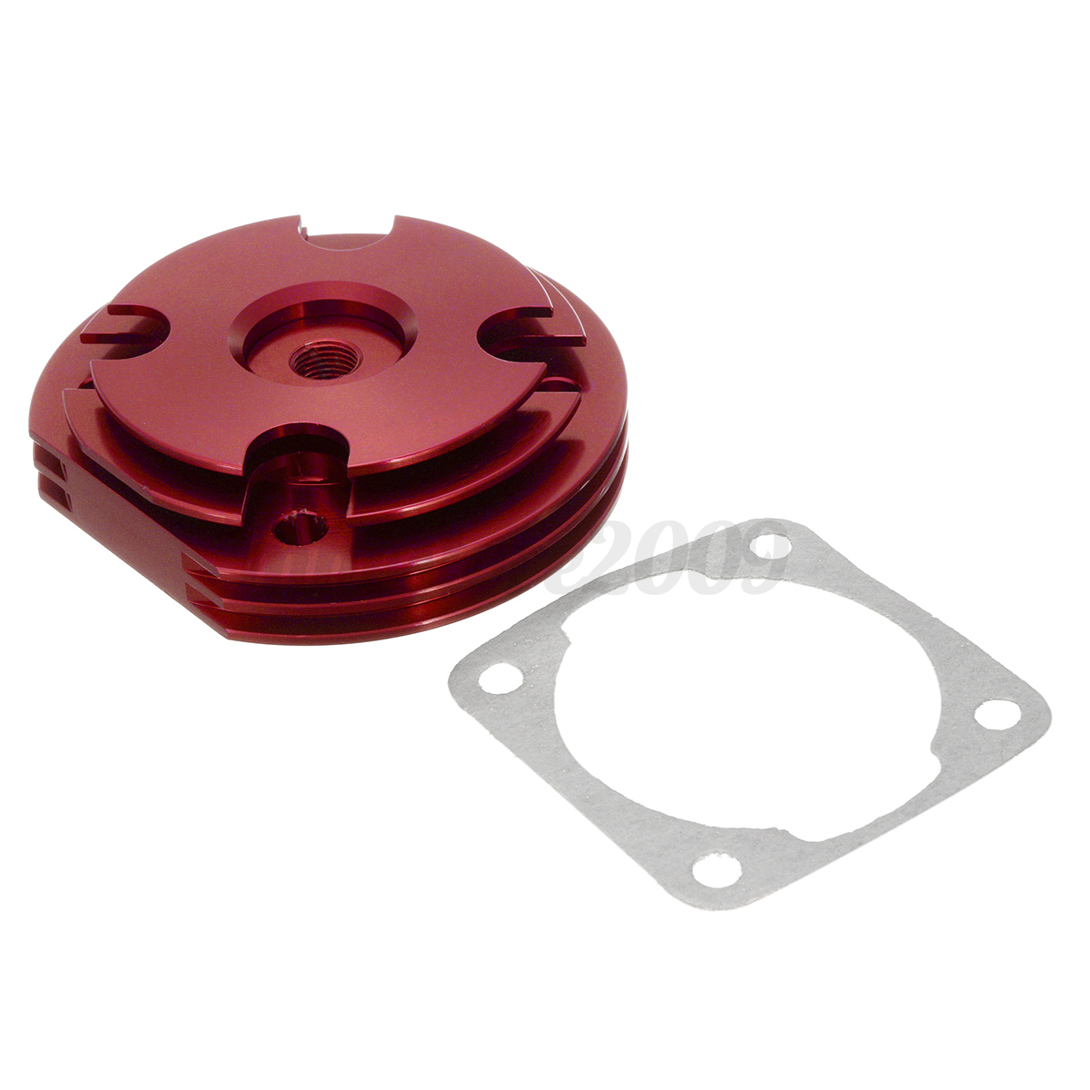 Cylinder Head Gasket 2 Per Engine 07v103147: 2 Stroke Engine Motorized Bike Cylinder Head + Gasket For