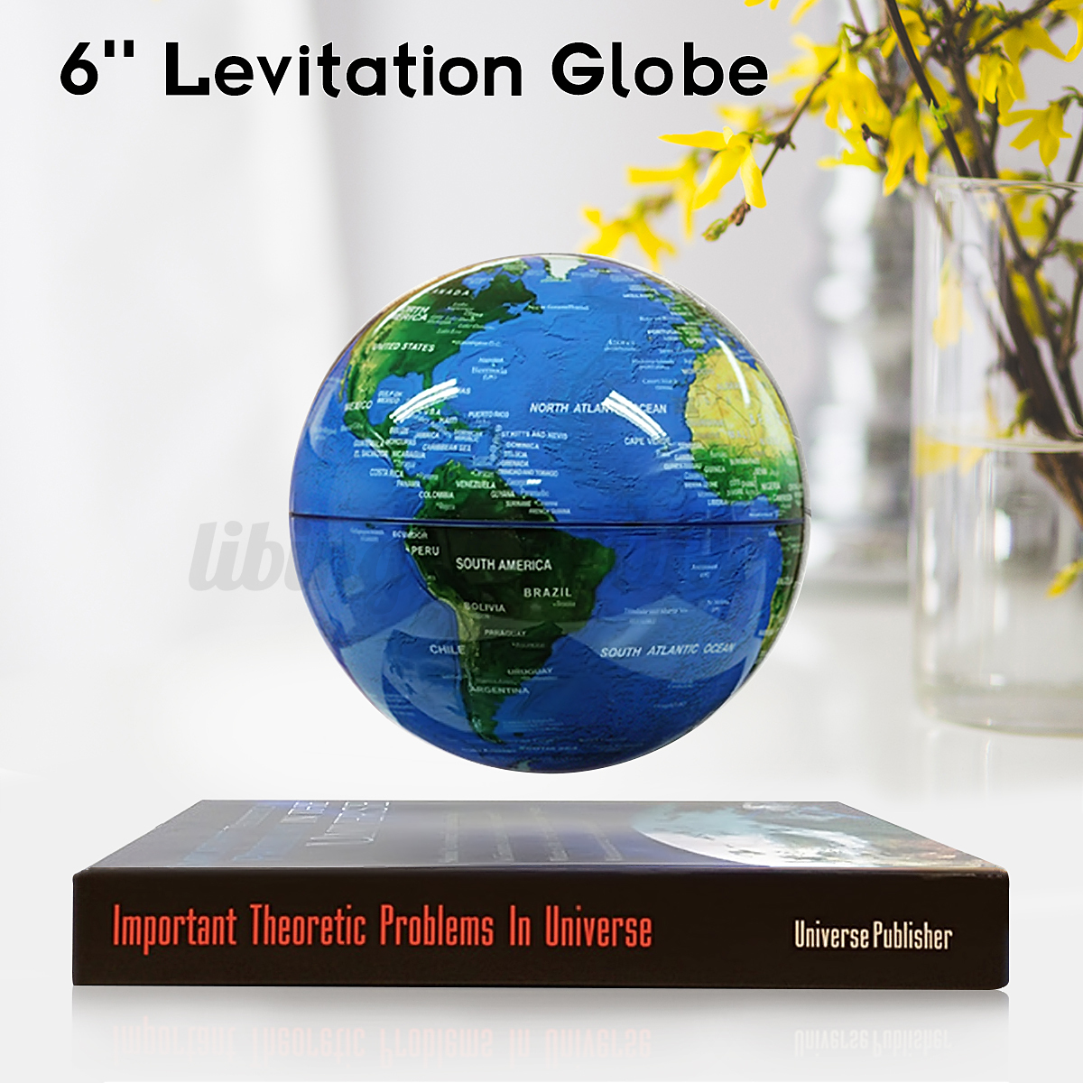 Bookcaseo shape magnetic levitation world map light decor bookcase o shape magnetic levitation world map light gumiabroncs Image collections