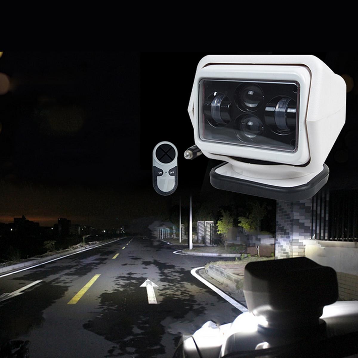 12v marin phare projecteur lumi re lampe recherche voiture bateau t l commande ebay. Black Bedroom Furniture Sets. Home Design Ideas