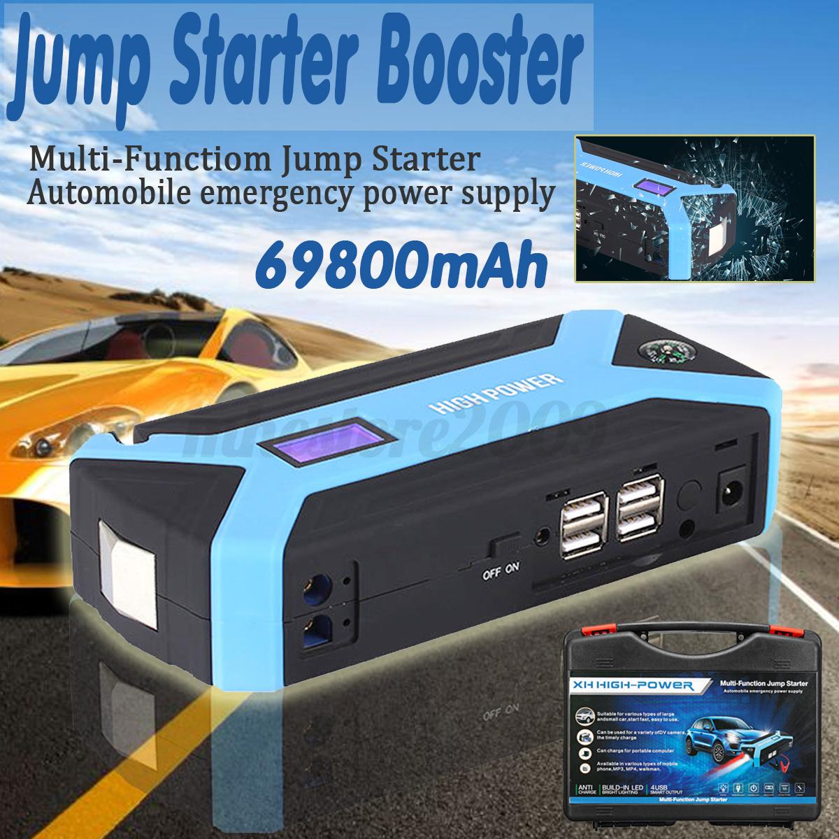 Sh Solong Complete Tattoo Kit 10 Wrap Coils Guns Machine Power Source · 68800mAh 82800mAh Car Jump Starter 4 USB Emergency