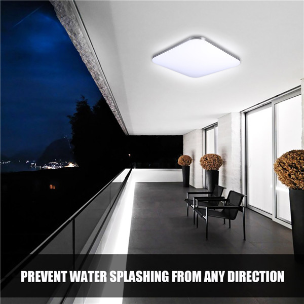 8w 12w 16w Led Kitchen Lighting Fixtures Ultra Thin Flush: 12/16/24W LED Ceiling Light Ultra Thin Flush Mount Fixture