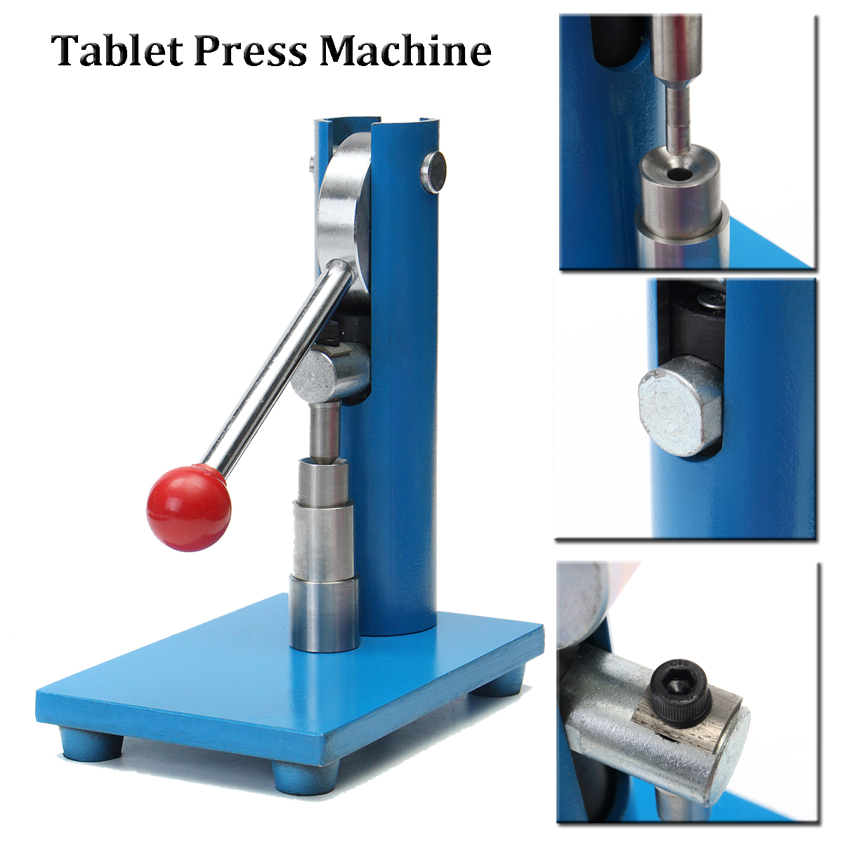 6mm Manual Hnad Punch Tablet Press Making Machine Pill ...