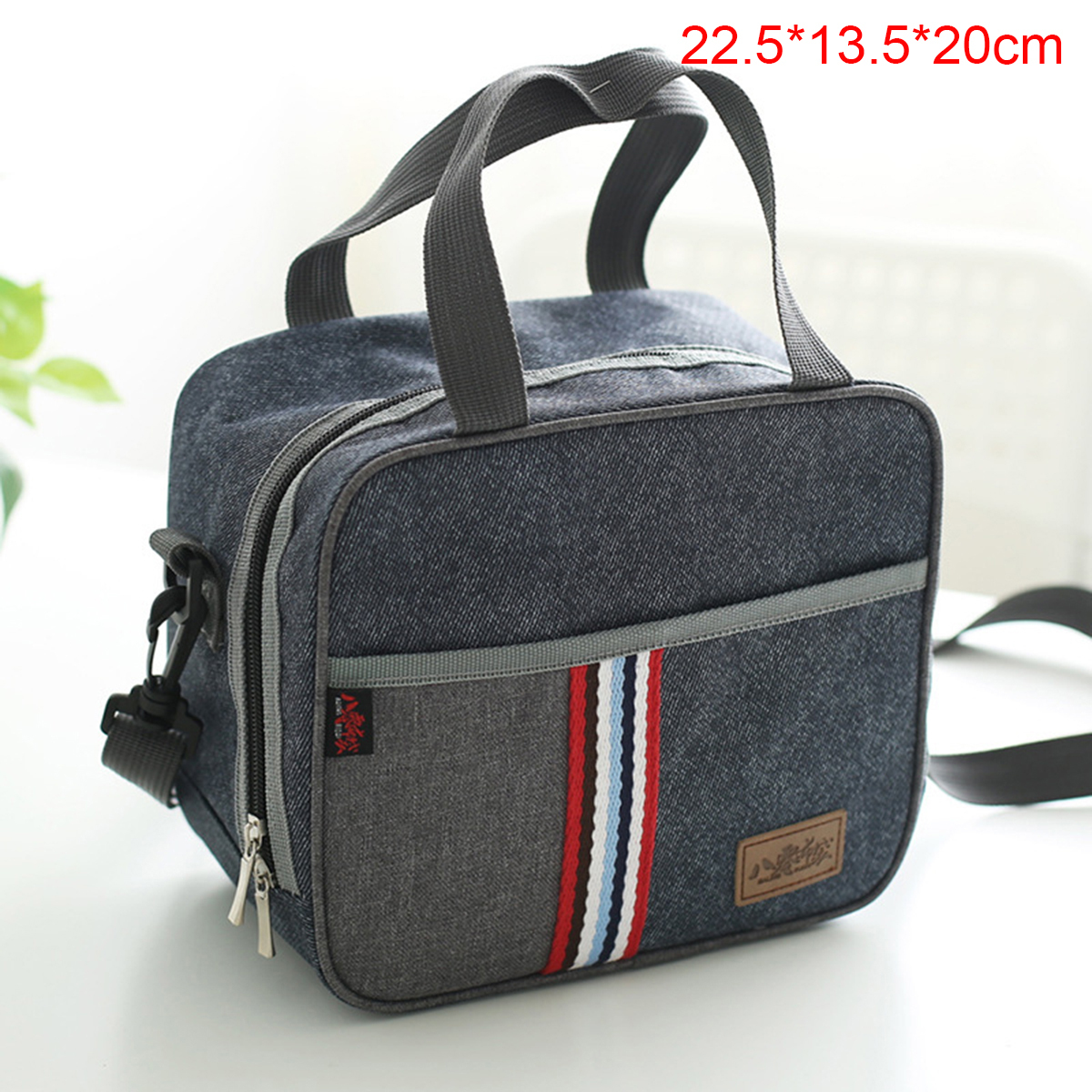 portable insulated thermal cooler lunch box bento tote picnic storage bag case ebay. Black Bedroom Furniture Sets. Home Design Ideas