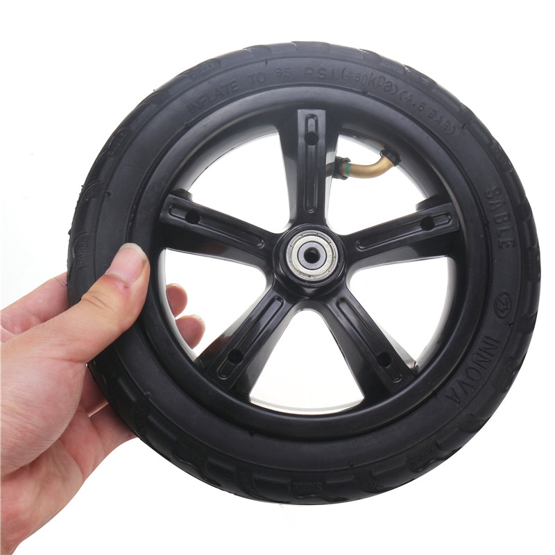 8-Inch-Inflated-Wheel-For-E-twow-S2-Scooter-M6-Pneumatic-Wheel-With-Inner-Tube thumbnail 8