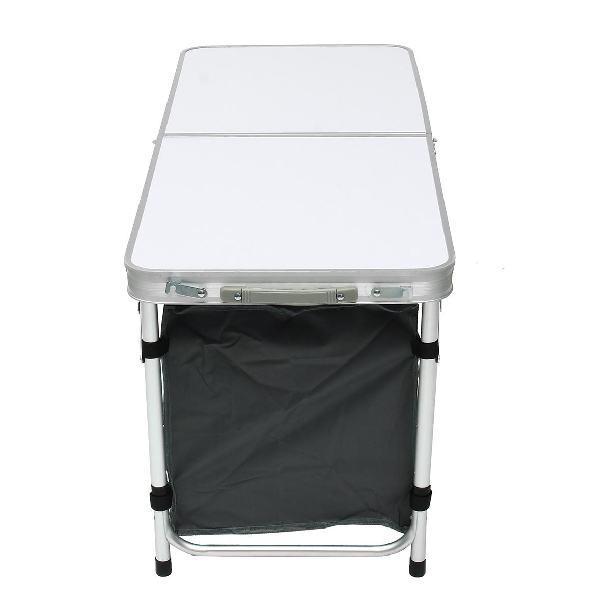 47'' Aluminum Portable Camping Folding Picnic Kitchen