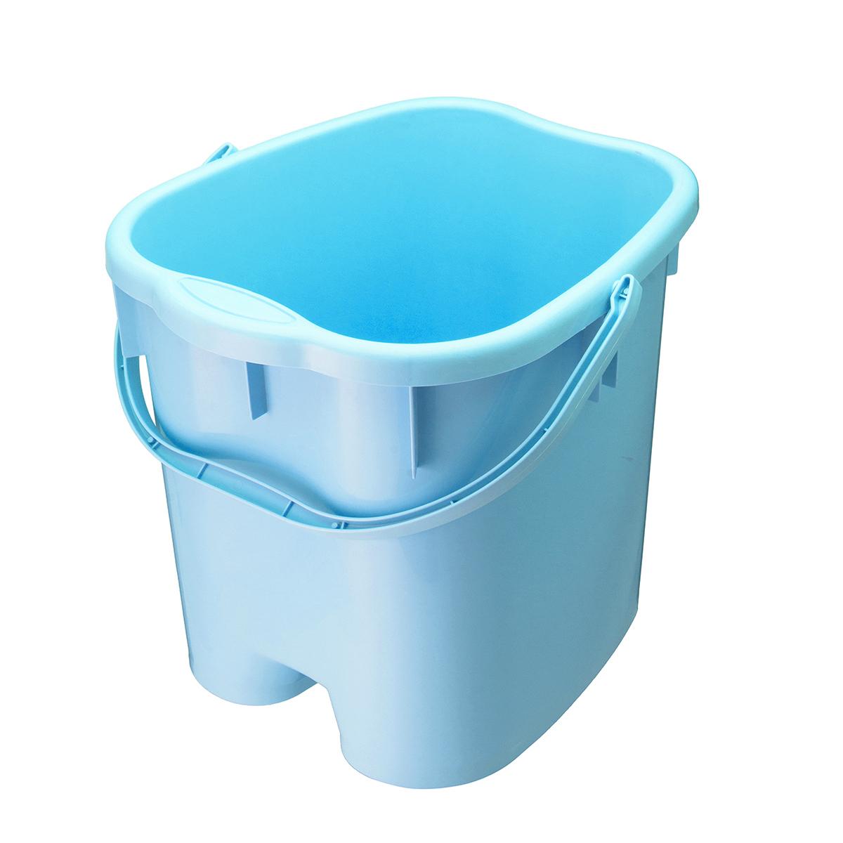 M/L Foot Detox Massage Spa Bucket Roller Relaxing Extra Soak Deep ...