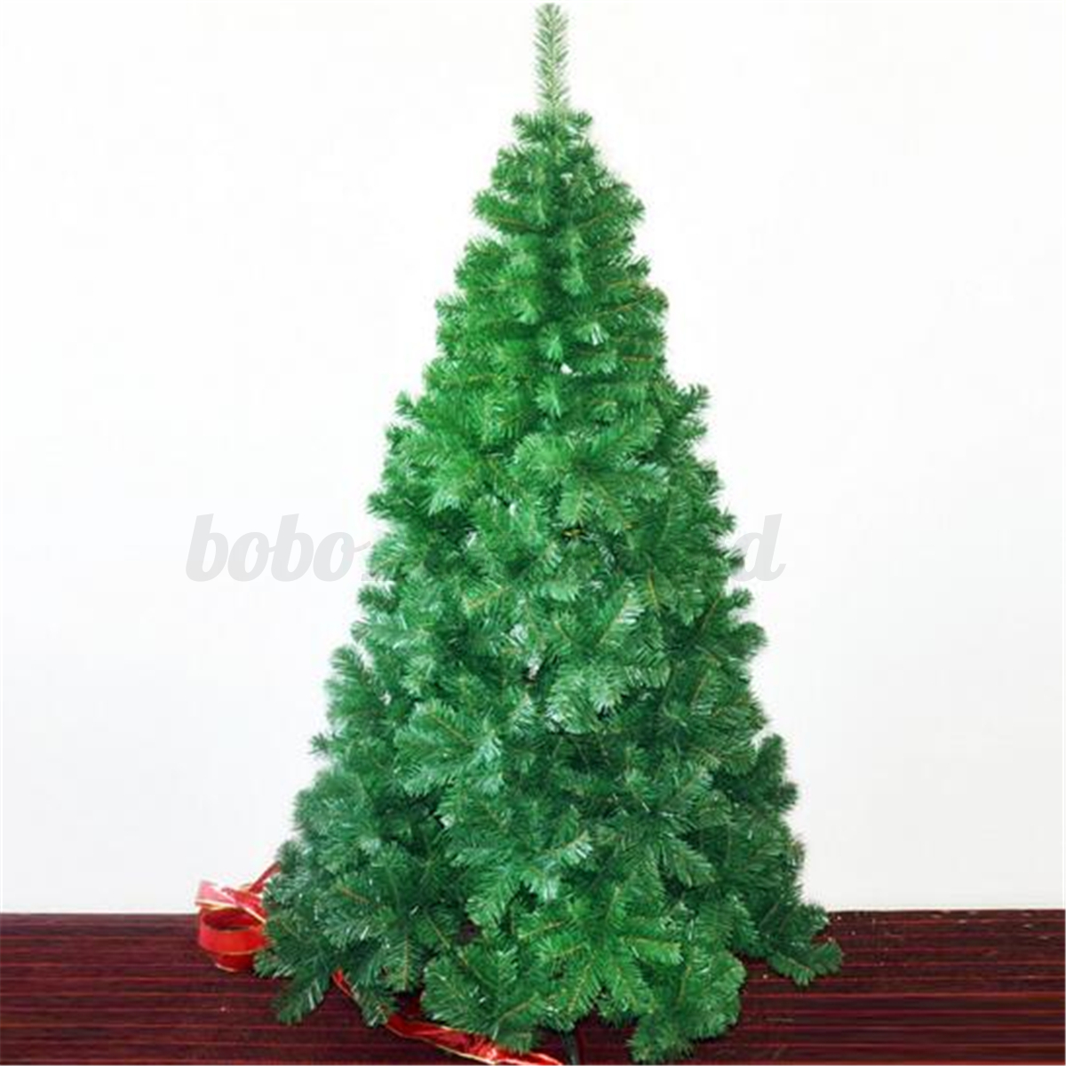 large artificial christmas tree indoor outdoor decor traditional ornament ebay. Black Bedroom Furniture Sets. Home Design Ideas