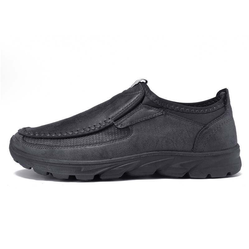 Men-039-s-Casual-Leather-Slip-On-Driving-Loafers-Antiskid-Moccasins-Breathable thumbnail 11