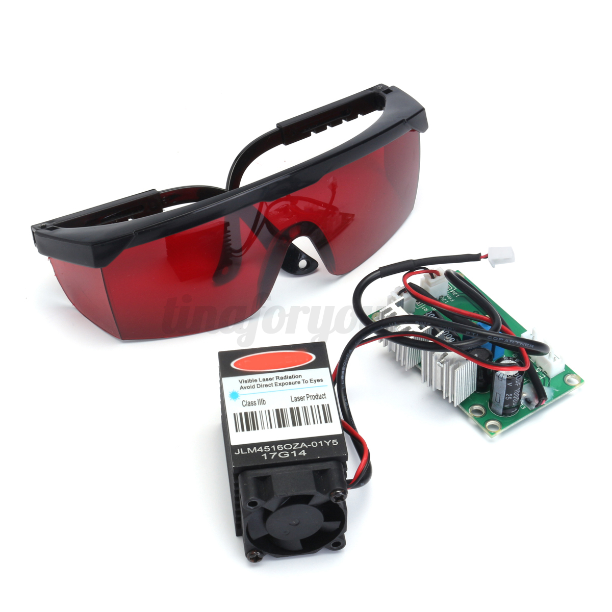 Powerful 2w 445nm 450nm Red Laser Diode Module 2000mw