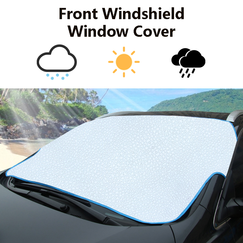 Car Windshield Cover Front Rear Window Sun Snow Shade Visor Protector Shied UK