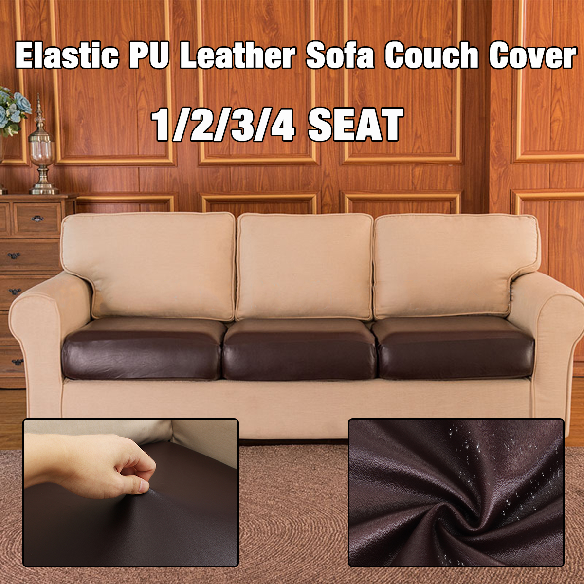 Pu Leather Couch Cover Seat Protector