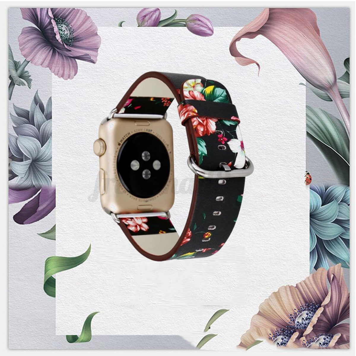 Genuine-Leather-Band-Strap-Wrist-Bracelet-Watchband-For-Apple-Watch-1-2-3-42mm