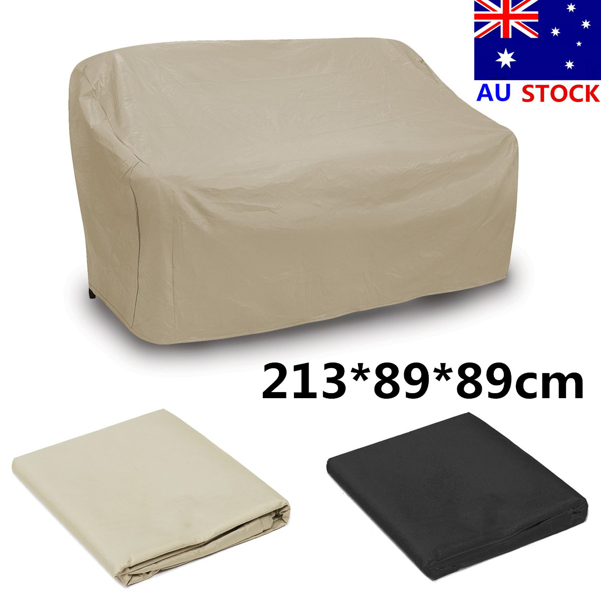 2138989cm Waterproof Furniture Sofa Patio Garden Rain Cover Outdoor Protection